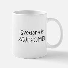 Unique Svetlana Mug