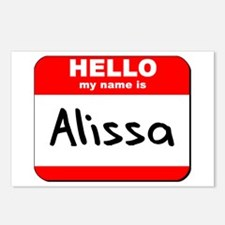 Hello my name is Alissa Postcards (Package of 8)