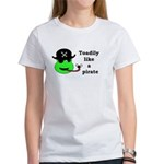 TOADILY LIKE A PIRATE Women's T-Shirt