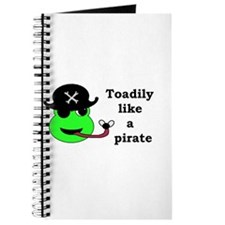 TOADILY LIKE A PIRATE Journal