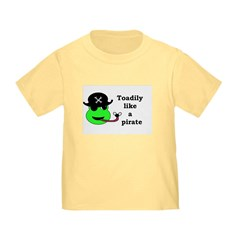 TOADILY LIKE A PIRATE T