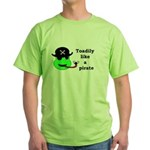 TOADILY LIKE A PIRATE Green T-Shirt