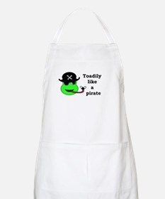 TOADILY LIKE A PIRATE BBQ Apron