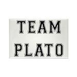 Team Plato Rectangle Magnet (100 pack)