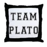 Team Plato Throw Pillow