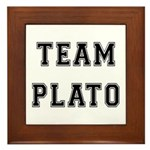 Team Plato Framed Tile