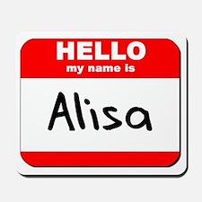 Hello my name is Alisa Mousepad