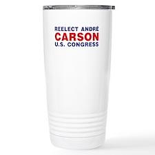 Reelect Carson Travel Mug