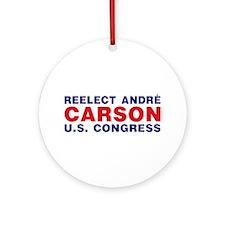 Reelect Carson Ornament (Round)
