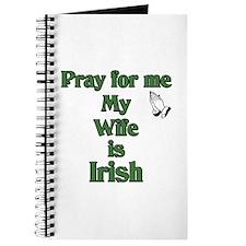 Pray For Me My Wife Is Irish Journal