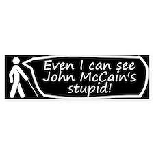 Blind Bumper Bumper Sticker