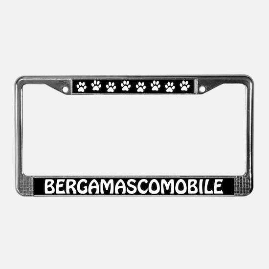 Bergamascomobile License Plate Frame