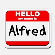 Hello my name is Alfred Mousepad