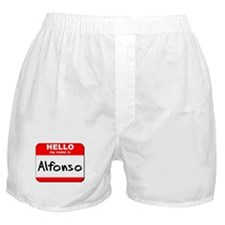 Hello my name is Alfonso Boxer Shorts