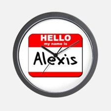 Hello my name is Alexis Wall Clock