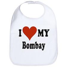 I Love My Bombay Bib