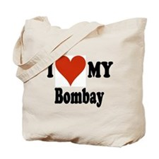 I Love My Bombay Tote Bag