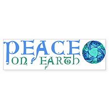 Celtic Peace on Earth Bumper Bumper Sticker