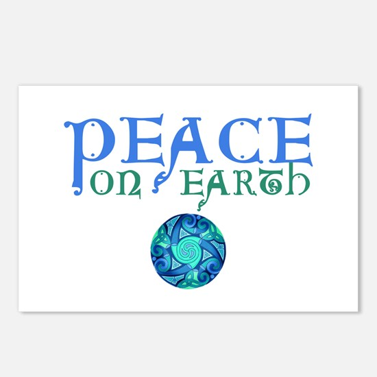 Celtic Peace on Earth Postcards (Package of 8)