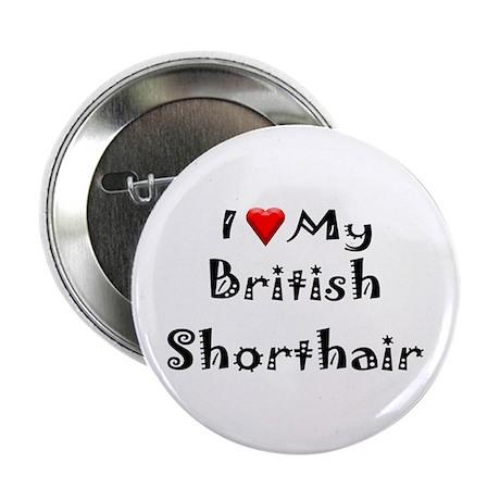 """British Shorthair 2.25"""" Button (100 pack)"""