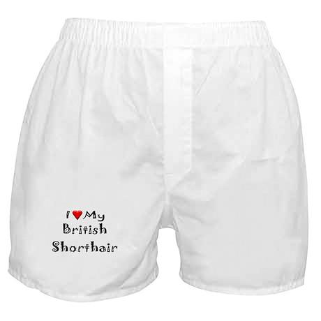 British Shorthair Boxer Shorts
