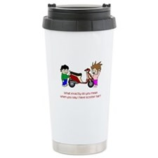 Scooter Hair Travel Mug