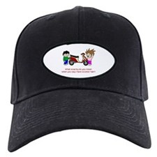 Scooter Hair Baseball Hat