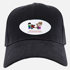Scooter Hair Baseball Hat