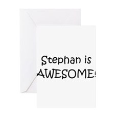 Unique Stephan Greeting Card
