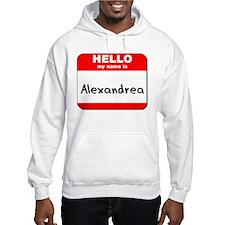 Hello my name is Alexandrea Hoodie