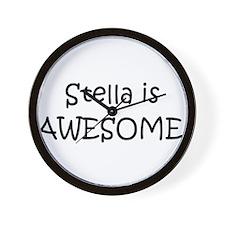 Cute Stella Wall Clock