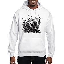 Horned Skull Hoodie
