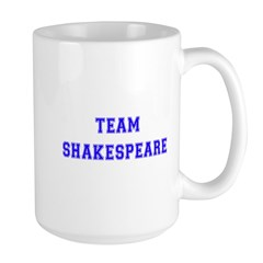 Team Shakespeare Large Mug