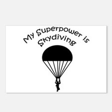 My Superpower is Skydiving Postcards (Package of 8