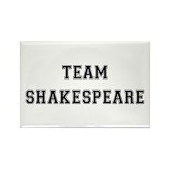 Team Shakespeare Rectangle Magnet