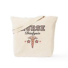 Dialysis Nurse Caduceus Tote Bag