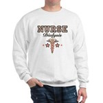 Dialysis Nurse Caduceus Sweatshirt