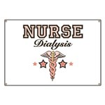 Dialysis Nurse Caduceus Banner