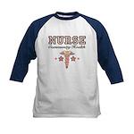 Community Health Nurse Kids Baseball Jersey