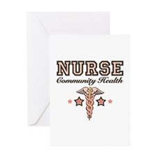 Community Health Nurse Greeting Card