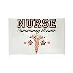 Community Health Nurse Rectangle Magnet (10 pack)
