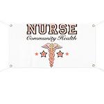 Community Health Nurse Banner