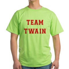 Team Twain Green T-Shirt