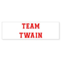 Team Twain Bumper Bumper Sticker
