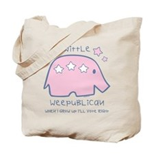 Wittle Weepublican Tote Bag
