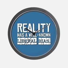 Reality/Liberal Bias Wall Clock