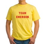 Team Emerson Yellow T-Shirt