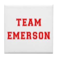 Team Emerson Tile Coaster