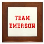 Team Emerson Framed Tile