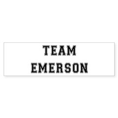 Team Emerson Bumper Bumper Sticker